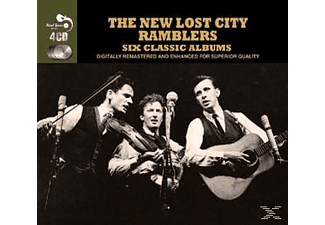 The New Lost City Ramblers - 6 Classic Albums [CD]
