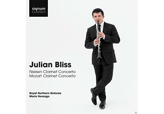 Julian Bliss, Royal Nothern Sinfonia - Julian Bliss: Klarinettenkonzerte - (CD)