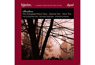 The Florestan Trio, Richard Hosford, Stephen Stirling - The Complete Piano Trios / Clarinet Trio / Horn Trio - (CD)