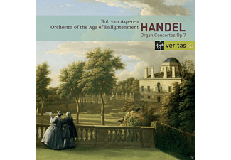 Bob Van Asperen, Orchestra Of The Age Of Enlightenment - Orgelkonzerte Op.7 [CD]