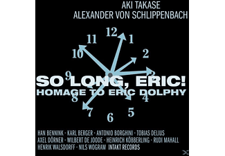 Schlippenbach, Alexander Von / Takase, Aki - So Long,Eric! Homage To Eric Dolphy - (CD)