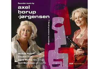 Gert Mortensen, Michala Petri - Recorder Music - (CD)