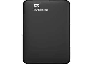 WESTERN DIGITAL 1 TB Elements Portable disque dur externe (WDBHHG0010BBK-EESN)
