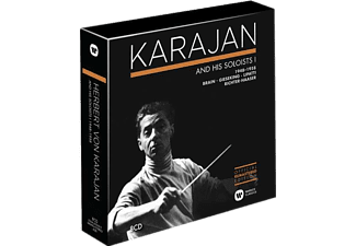 Herbert von Karajan - Karajan and his Soloists (CD)