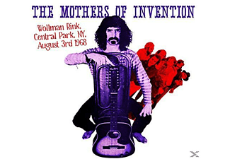 The Mothers Of Invention - Wollman Rink, Central Park Ny 3rd August 1968 - (Vinyl)