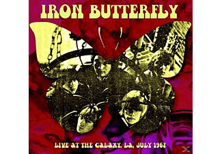 Iron Butterfly - Live At The Galaxy, La July 1967 - (Vinyl)