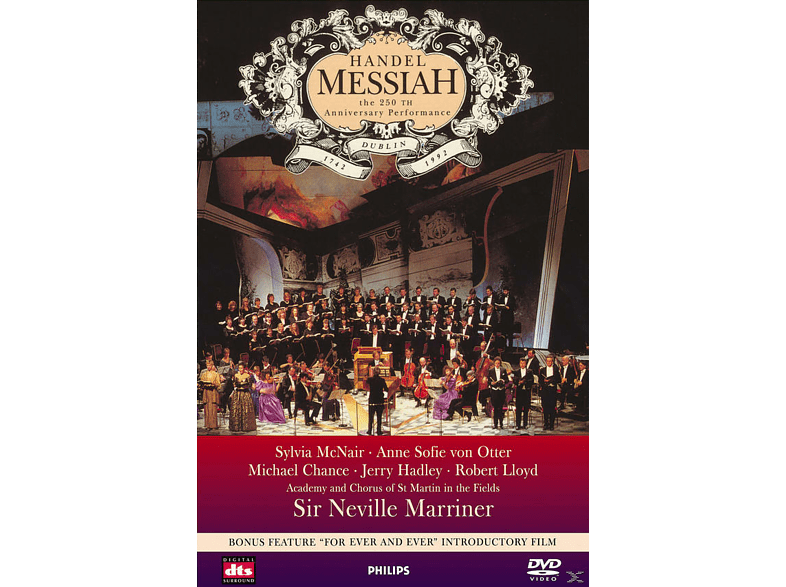 VARIOUS, Academy of St. Martin in the Fields Chorus - Messiah - The 250th Anniversary Performance [DVD]