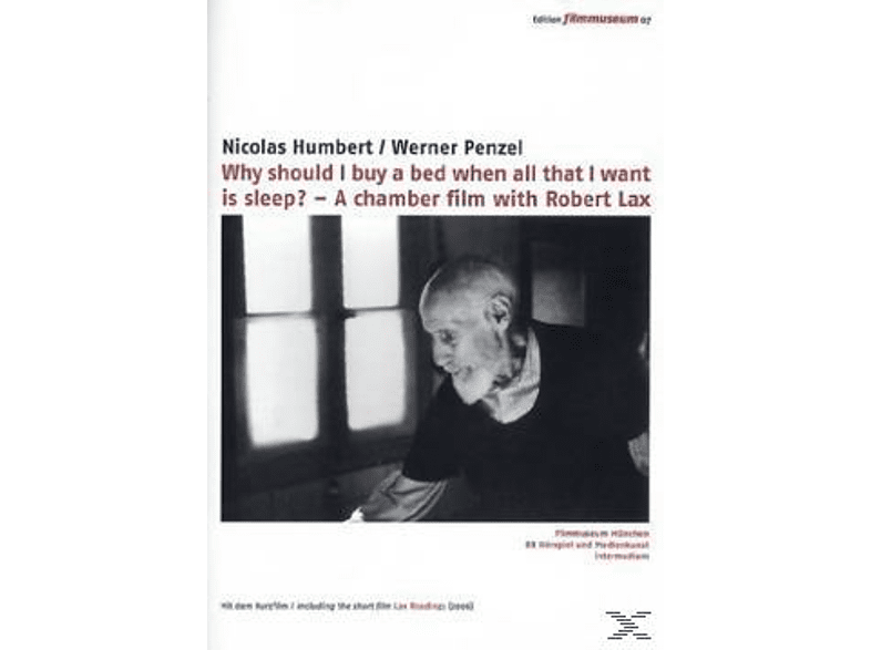 ROBERT LAX - WHY SHOULD I BUY A [DVD]