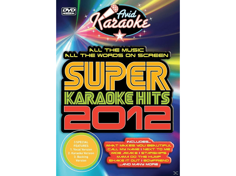Karaoke - Super Karaoke Hits 2012 [DVD]