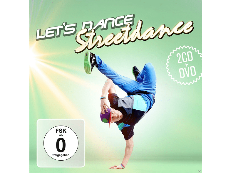VARIOUS - Let's Dance - Streetdance (2cd & Dvd) [CD + DVD Video]
