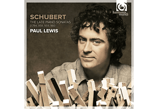Paul Lewis - Late Piano Sonatas - (CD)