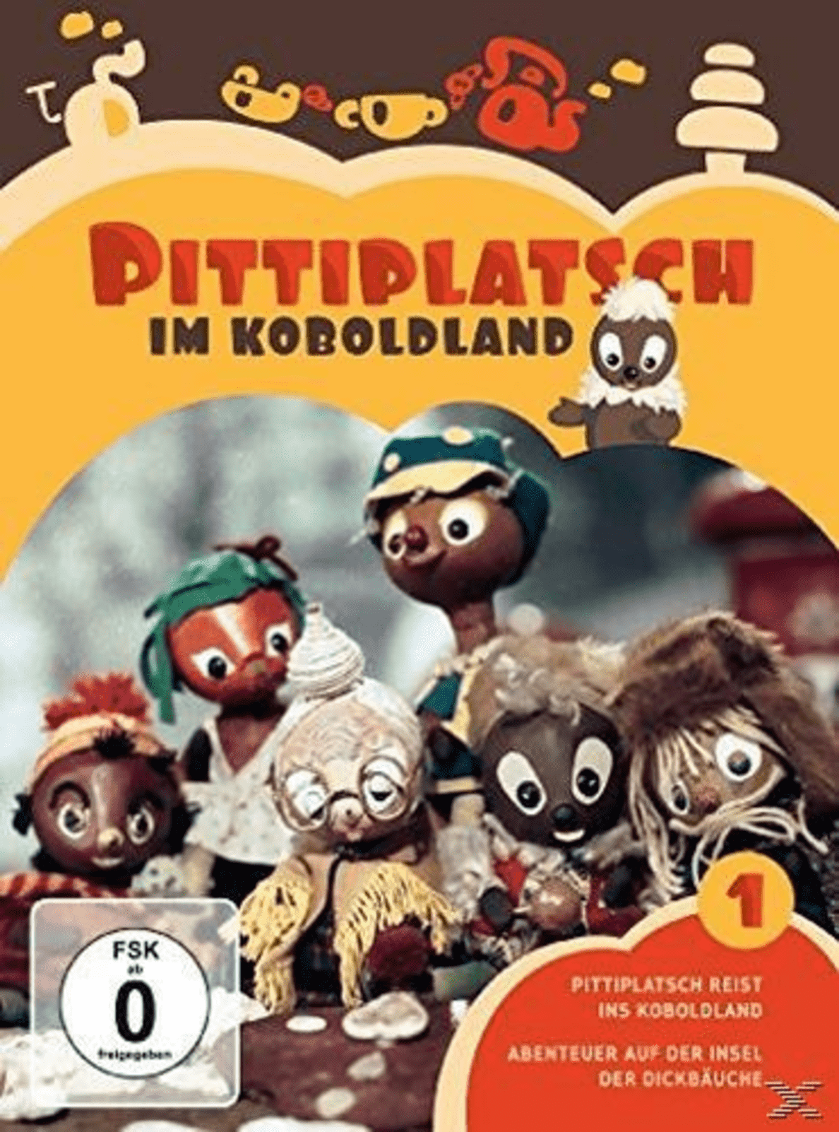 Pittiplatsch im Koboldland - Vol. 1 - (DVD)