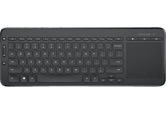 MICROSOFT Tastatur All-in-One, schwarz (N9Z-00008)