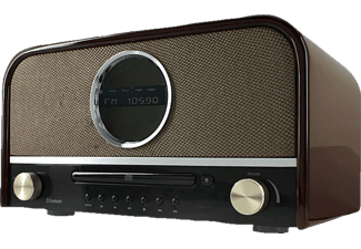 SOUNDMASTER NR850, Digitalradio, DAB+, UKW, Holz