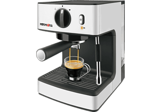 Cafetera Express - Mini Moka CM 1866, 1.5 L, 1250 W, 15 bares, Filtro ExtraCream, Plata