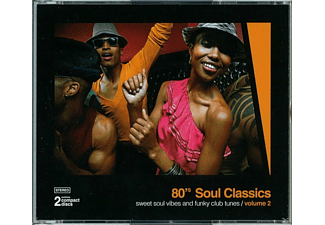 VARIOUS - 80 s Soul Classics Vol.2 - (CD)