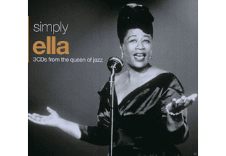 Ella Fitzgerald - Simply Ella - 3cds From The Queen Of Jazz - (CD)
