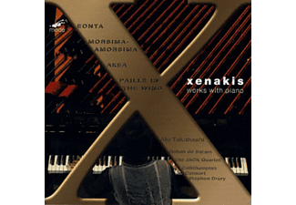 Aki Takahashi, Rohan De Saram, The Callithumpian Consort, Jack Quartet - Xenakis: Works With Piano - (DVD)