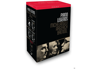 VARIOUS, The New Japan Philharmonic Orchestra - Piano Legends [DVD]