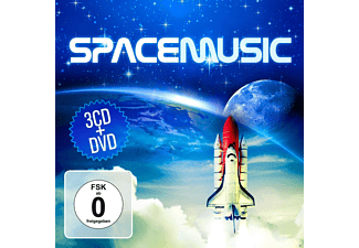 VARIOUS - Space Music - (CD + DVD)