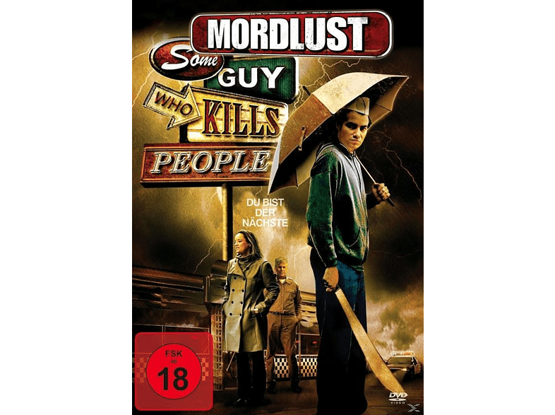 MORDLUST - SOME GUY WHO KILLS PEOPLE [DVD]