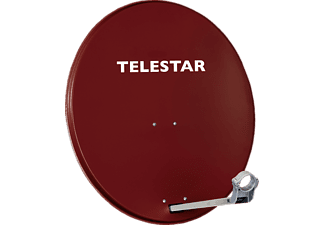 TELESTAR 5109721-AR Digirapid 80A Satellitenantenne, Rot