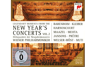 Various - Legendary Moments From The New Year's Concerts Vol. 2 - (CD)