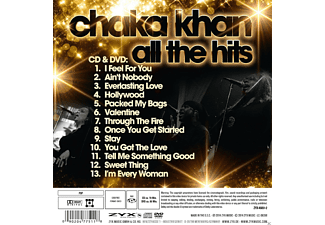 Chaka Khan - All The Hits - (CD + DVD)