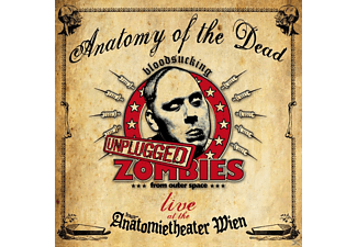 Bloodsucking Zombies From Outer Space - ANATOMY OF THE DEAD (LIVE UNPLUGGED) - (CD)