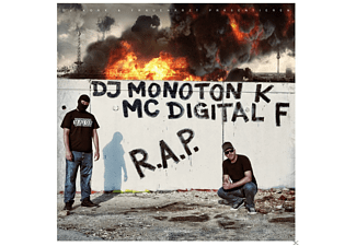 Dj Monoton K, Mc Digital F - R.A.P. - (CD)