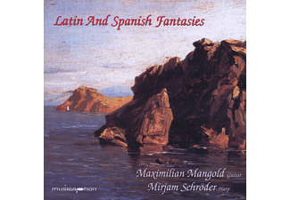 Mirjam Schröder, Mangold Maximilian - Latin And Spanish Fantasies For Guitar And Harp - (CD)