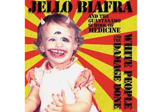 Jello And The Guantanamo School Of Medicine Biafra - White People And The Damage Done - (CD)
