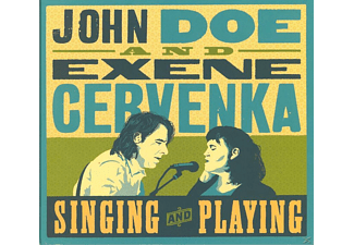 John Doe And Exene Cervenka - Singing And Playing - (CD)