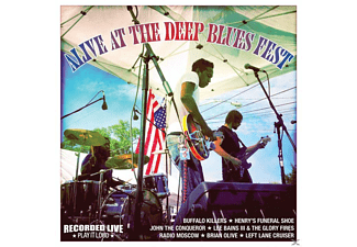 VARIOUS - Alive At The Deep Blues Fest - (CD)
