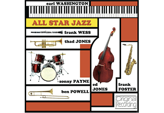 Earl Washington - All Star Jazz - (CD)
