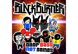 Blackburner - Drop Bass Not Bombs - (CD)