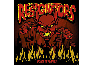 The Resignators - Down In Flames - (CD)