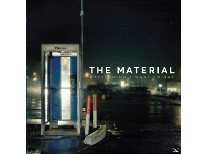 Material - Everything I Want To Say (Clear Vin [Vinyl]