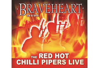Red Hot Chilli Pipers - Braveheart - (CD + DVD)