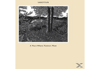 Saboteur - A Place Where Painters Meet - (Vinyl)
