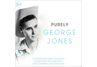 George Jones - Purely George Jones - (CD)