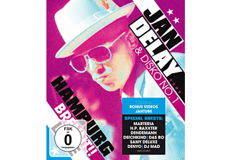 Jan Delay, DISKO NO.1 - HAMBURG BRENNT!! - (Blu-ray)