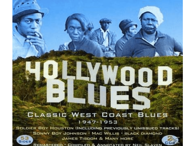 Soldier Boy Houston, Sonny Boy Johnson, Mac Willis, James Tisdom, Black Diamond - Hollywood Blues (Classic West Coast Blues) [CD]