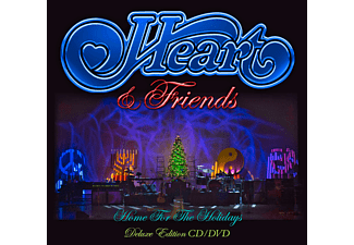 Heart - Heart & Friends: Home For The Holydays (DLX) CD + DVD