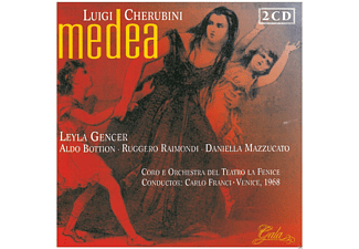 Leyla Gencer - Medea - (CD)
