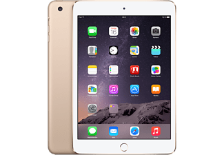 APPLE iPad Mini 3 Cellular 128GB - Guld