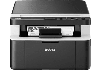 BROTHER DCP-1612W, 3-in-1 Monolaser-Multifunktionsdrucker, Schwarz/Weiß