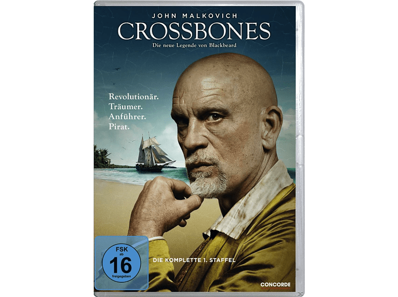 Crossbones - Staffel 1 [DVD]
