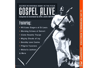 VARIOUS - Gospel Alive-Sacred Recordings Made In The Field - (CD)