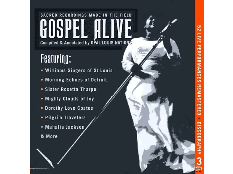 VARIOUS - Gospel Alive-Sacred Recordings Made In The Field [CD]